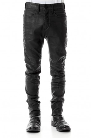 SADDAM TEISSY 20SS Carbon Coating Curve Slim Pants