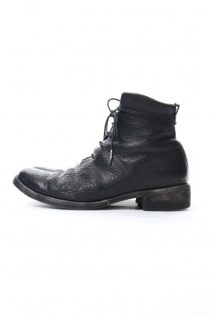 SADDAM TEISSY 18-19AW Buffalo leather lace up boots