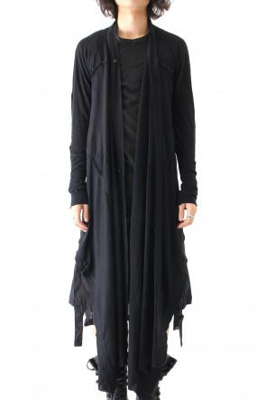 by H New York 17-18AW Drapery Long Sleeve Cardigan