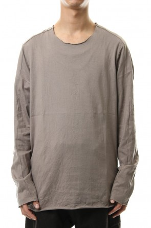 WARE 19-20AW L/S T-Shirts L.Gray