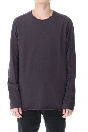 WARE  Medium Jersey Long Sleeve T-Shirts Charcoal