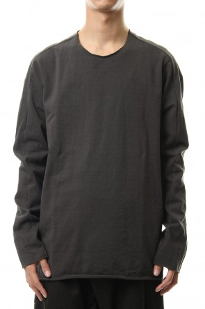 WARE 19-20AW Over Lock Stitch L/S T-Shirts