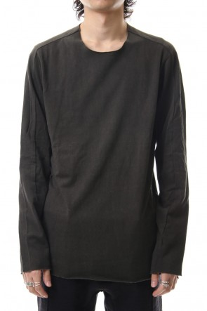WARE 19-20AW Silk Cotton L/S T-shirts