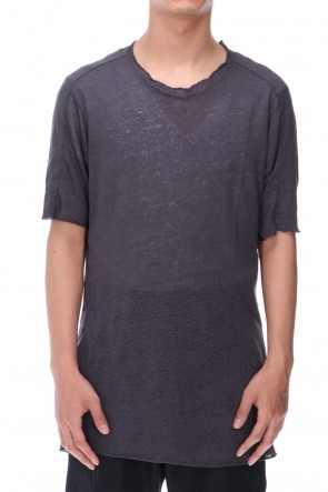 WARE  Linen Jersey T-shirts Charcoal