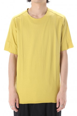 WARE  Light Cotton Jersey T-Shirts Lemon Yellow
