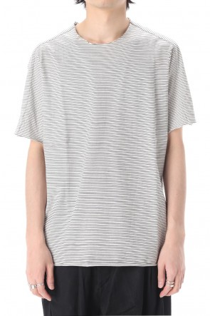WARE  Light Cotton Jersey Border T-Shirts