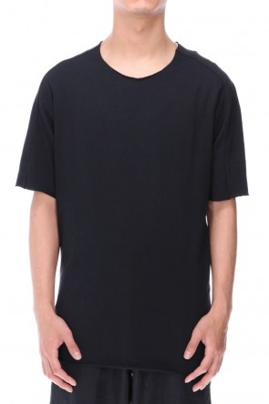 WARE  Light Cotton Soft Jersey T-Shirts Black