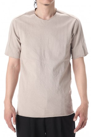 WARE  Medium Jersey T-Shirts Gray Beige
