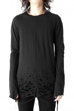 Shotgun Low Level Applied Black Long Sleeve