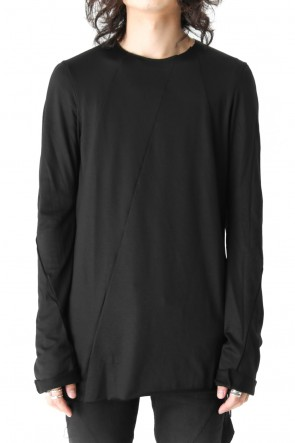 FAGASSENT 17-18AW Paneled Seaming Black Long Sleeve