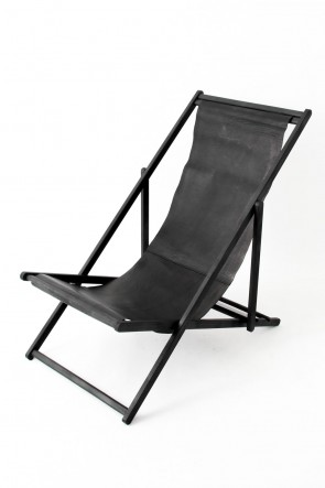 T.A.S BASIC RECLINING CHAIR BLACK×BLACK