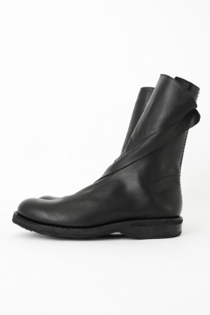 Wrap Steer Leather Boots