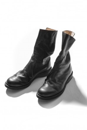 The Viridi-anne 16-17AW Wrap Steer Leather Boots