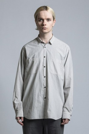The Viridi-anne 21SS Striped Shirt
