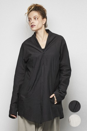 divka18SSC / Ny Washer voile tunic - DK13-04-B05
