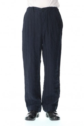 NOUSAN 21SS Weaving stripe Straight trousers