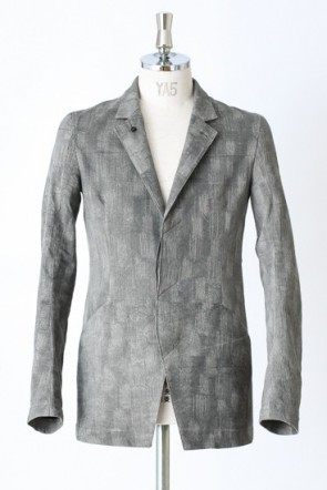 UNSTRUCTURED BLAZER _ JACQUARD SUITING