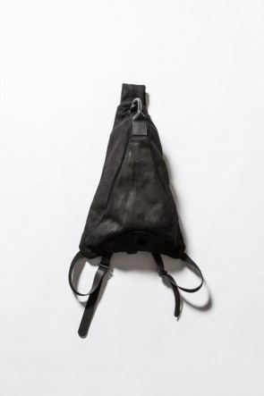 Wool Nylon Melton Shoulder Bag