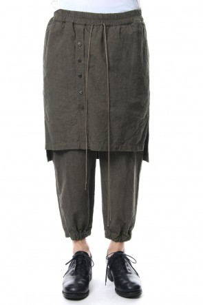 The Viridi-anne 18SS High Density Weather Skirt Pants OD