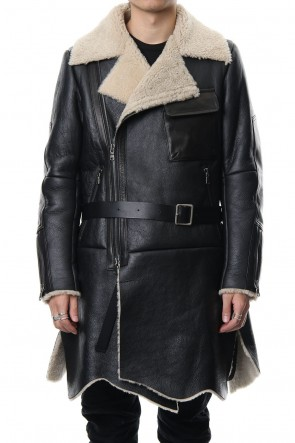 The Viridi-anne 18-19AW Mouton Coat