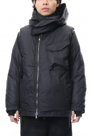 The Viridi-anne 18-19AW Layered Down jacket