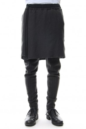 The Viridi-anne 18-19AW Contraction Skirt pants Dark O.D