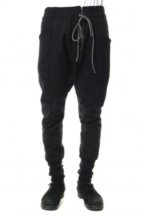 The Viridi-anne 19SS Tight tension jersey stitch skinny pants