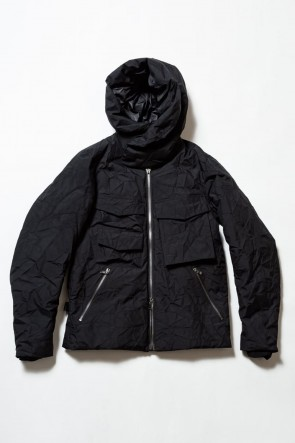 The Viridi-anne19-20AW3layer Wrinkled Down Jacket