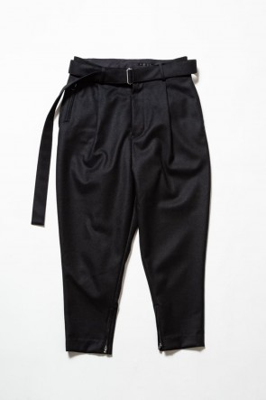 The Viridi-anne19-20AWCoating Flannel Tapered Pants