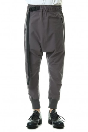 The Viridi-anne 20SS Water-repellent Stretch Jogger pants Gray