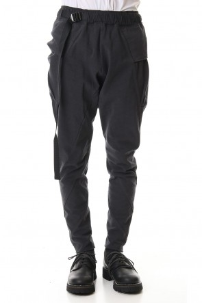 The Viridi-anne 20SS Tight Tension Jersey pants Gray