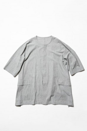 The Viridi-anne 20SS Salt shrinkage Short sleeve shirt