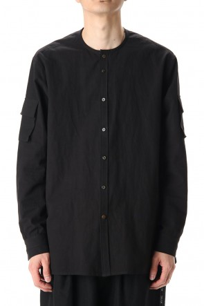 The Viridi-anne 20-21AW Sleeve Pocket Shirt