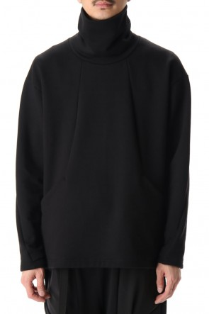 The Viridi-anne 20-21AW Cotton fleece Turtle Black