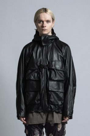 The Viridi-anne 21SS Lamb Leather Mountain Jacket