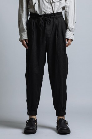 The Viridi-anne 21SS Linen Broad Cuff Pants