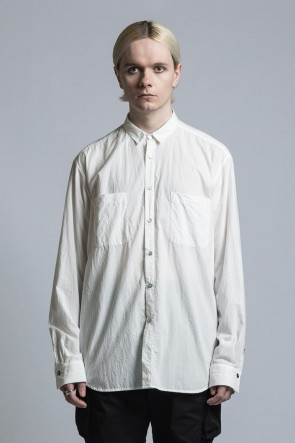 The Viridi-anne 21SS Typewriter Cross Shirt White