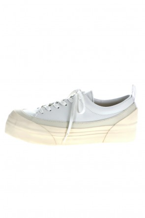 The Viridi-anne 21SS Low Cut Sneakers White / White