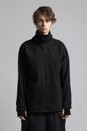 The Viridi-anne21-22AWMask High Neck Sweat Pullover