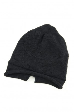 The Viridi-anne 19-20AW DANIEL ANDRESEN collaboration Knit cap - Black