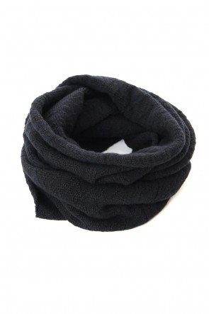 The Viridi-anne 19-20AW DANIEL ANDRESEN collaboration Snood - Black