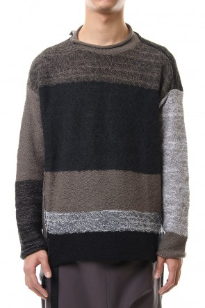 The Viridi-anne 20SS DANIEL ANDRESEN collaboration Pullover Knit