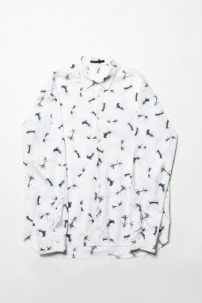 The Viridi-anne 20SS PATRICIA MARCH collaboration Long sleeve Shirt