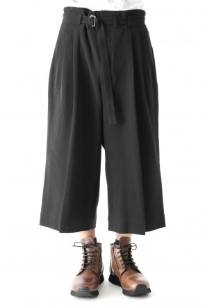The Viridi-anne 18SS Strong Twist Double Weave Gaucho Pants
