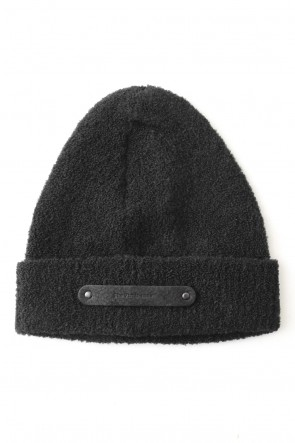 The Viridi-anne 17-18AW Boucle Wool Knit Cap