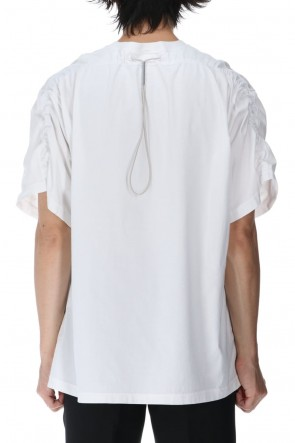 VEIN 21SS Sueded Cotton jersey Vessel S/S Tee White