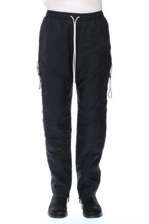 VEIN 20-21AW Nylon see through taffeta Vessel trousers