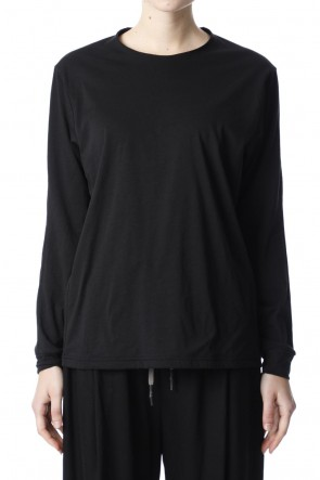 H.R 6 20SS Classic Long sleeve Black for women
