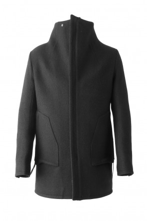 SADDAM TEISSY 17-18AW Wool High-Neck Jacket