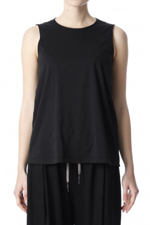 H.R 6 20SS Classic Tank Top Black for women